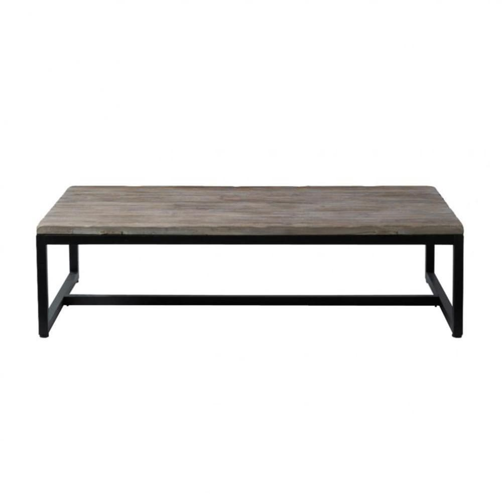 Couchtisch Long Island Wood And Metal Industrial Coffee Table W 129cm Long Island