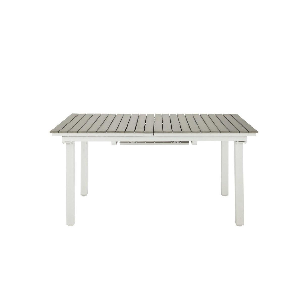 Table De Jardin Imitation Bois | Emejing Table De Jardin Pvc ...