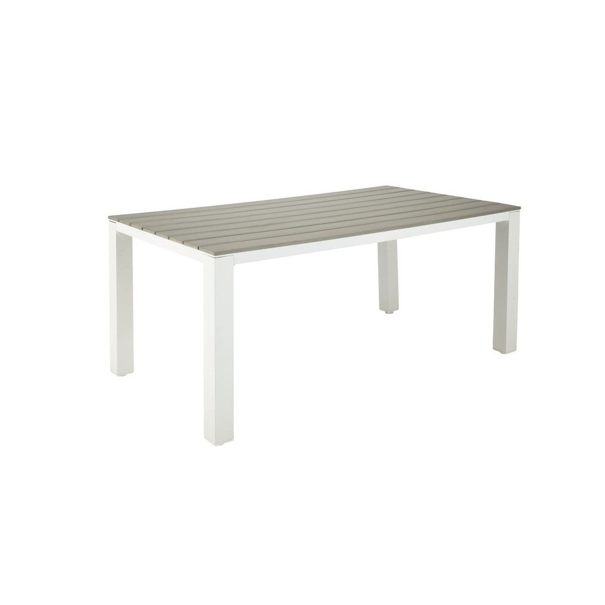 Salon De Jardin Composite Et Alu Table De Jardin Composite Table De Jardin Extensible Alu