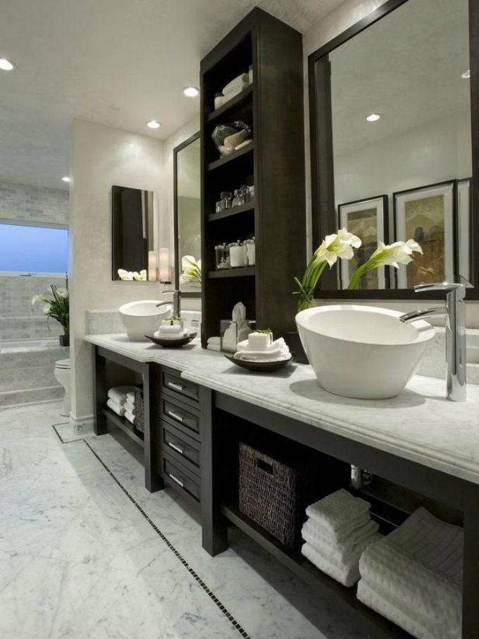 30 Incredible Contemporary Bathroom Ideas
