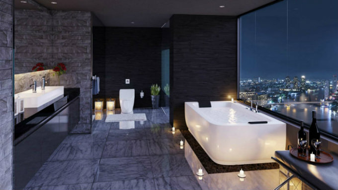 15 Marvelous and Luxury Bathroom Ideas urban remodeling