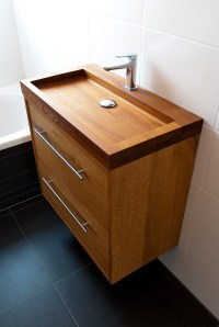 Fascinating Wooden Bathroom Sinks to Create a Classic Style
