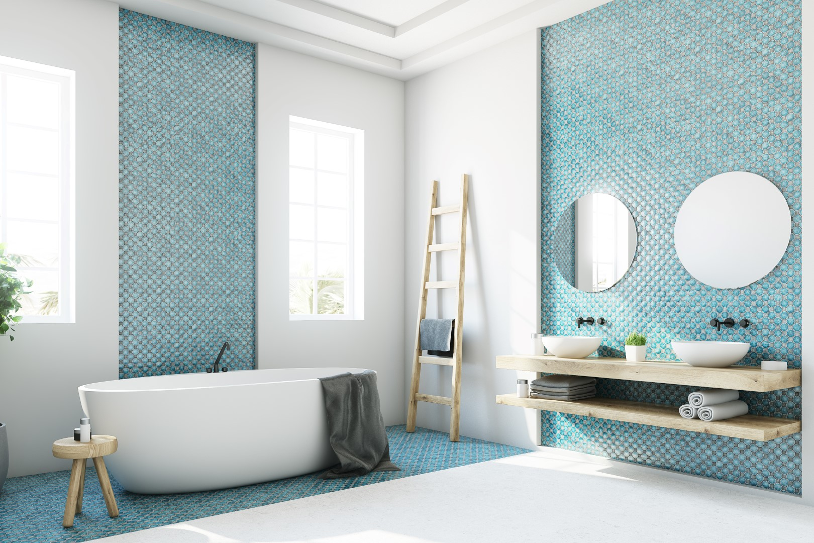 5 Incredible Tiles Ideas For Your Bathroom Maison Valentina Blog