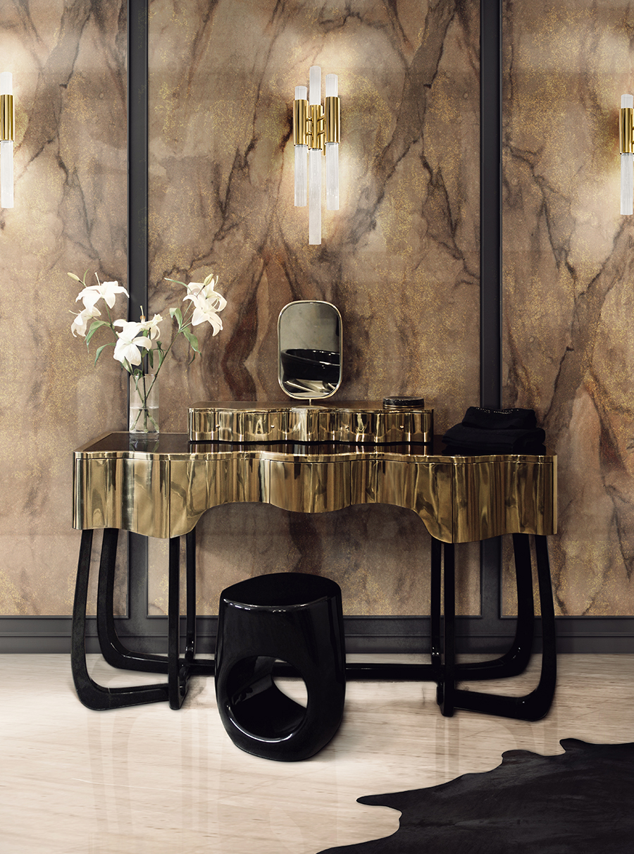 Dressing Maison Tend Image Sinuous Dressing Table Lifestyle Inspiration From