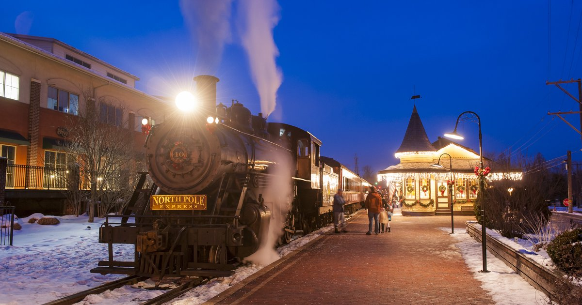 Open Concept Bathroom Marvelous Polar Express Train Rides For The Holidays