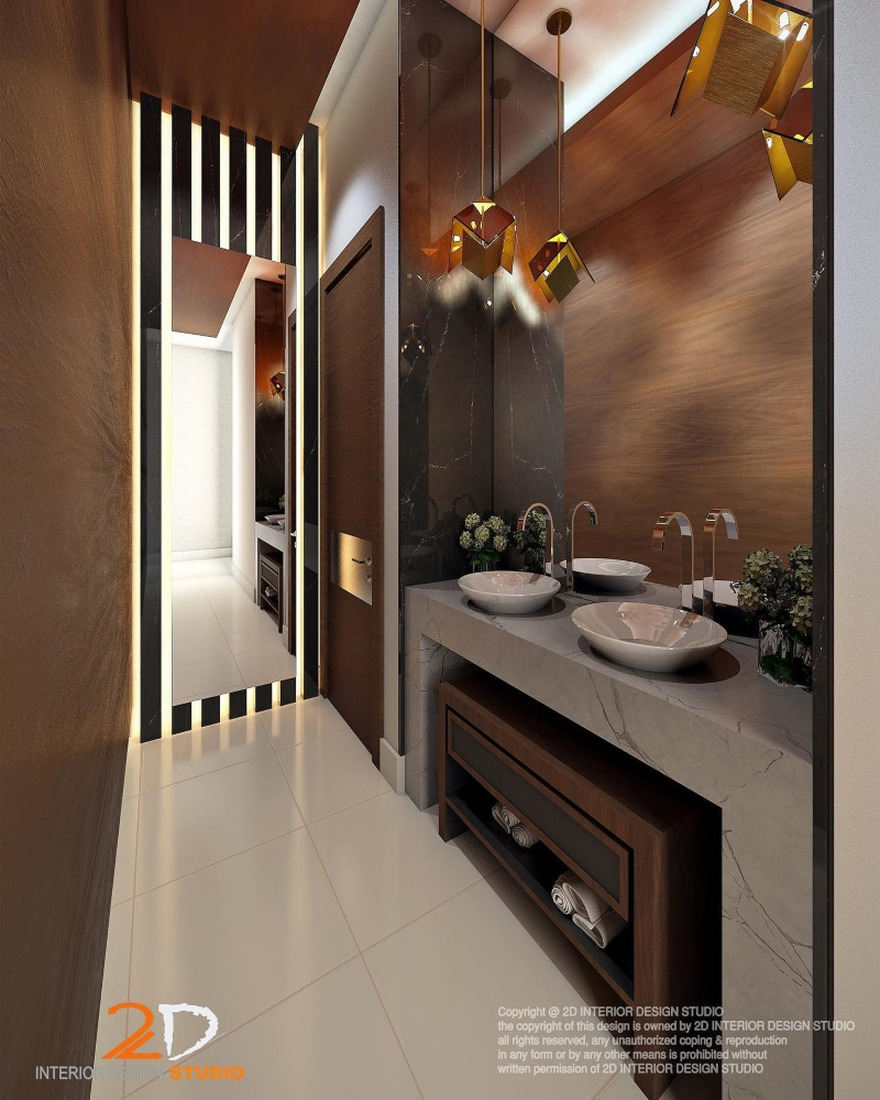 20 Interior Designers In Jeddah And Their Marvelous Bathroom Design