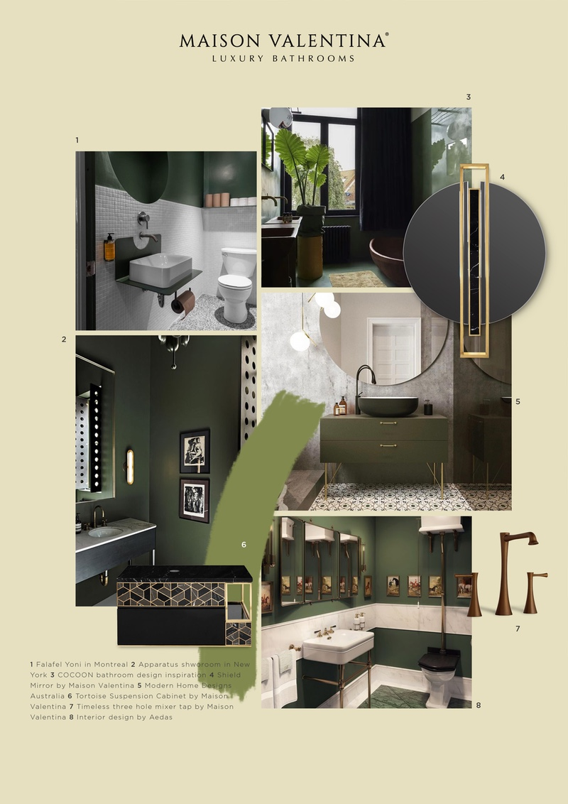 The Soft Color Palette For A New Bathroom Interior Design News And Events By Maison Valentina Luxury Bathrooms