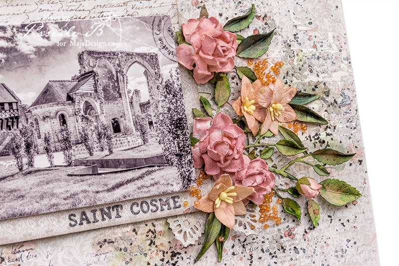 St Cosmes Priory by Pascale B.