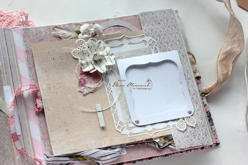 Floral Handmade Album by Elena Olinevich 7