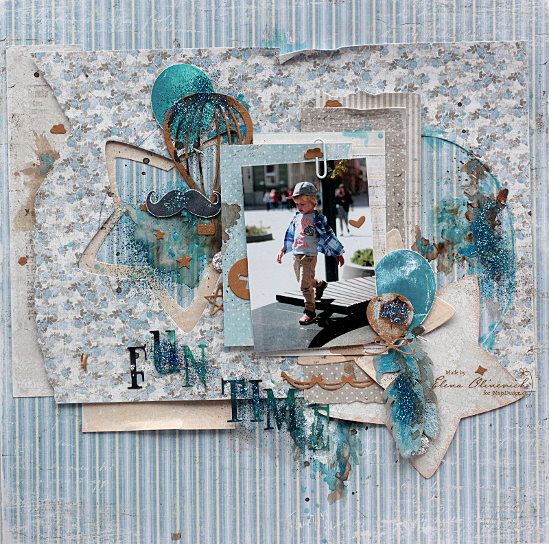 Fun Time Layout, by Elena Olinevich, Maja Design_01