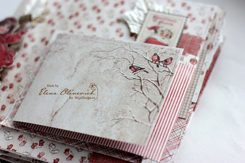 Winter is Magic Mini Album, by Elena Olinevich, Maja Design, photo1