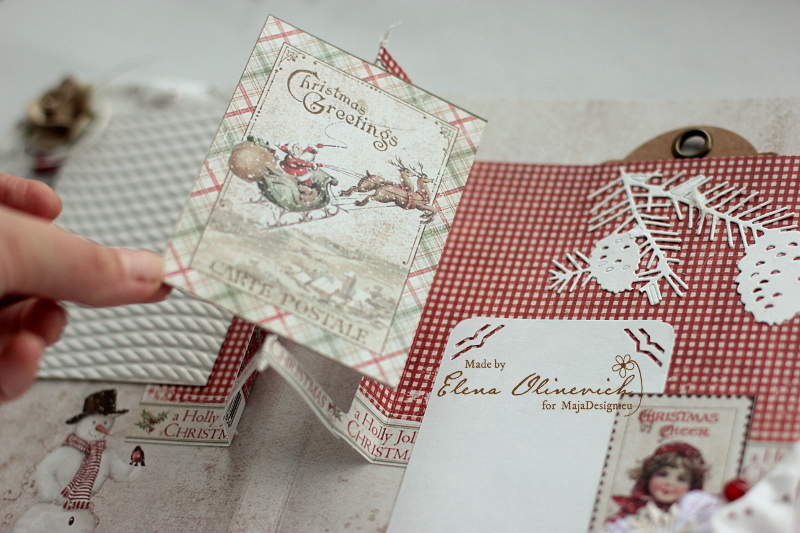 Winter is Magic Mini Album, by Elena Olinevich, Maja Design, photo6
