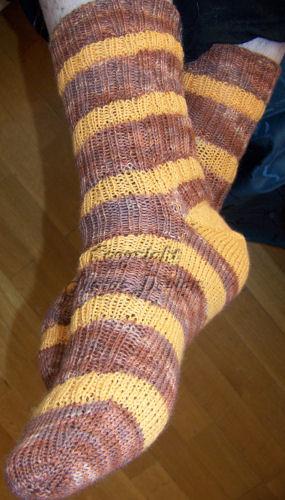 SockMadness5 sock 1