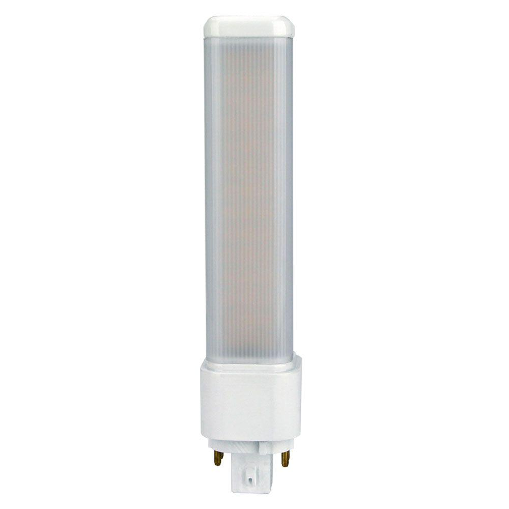 Led White 26w Equivalent Warm White 3000k Pl C Ballast Bypass 4 Pin G24q 3 Non Dimmable Led Light Bulb
