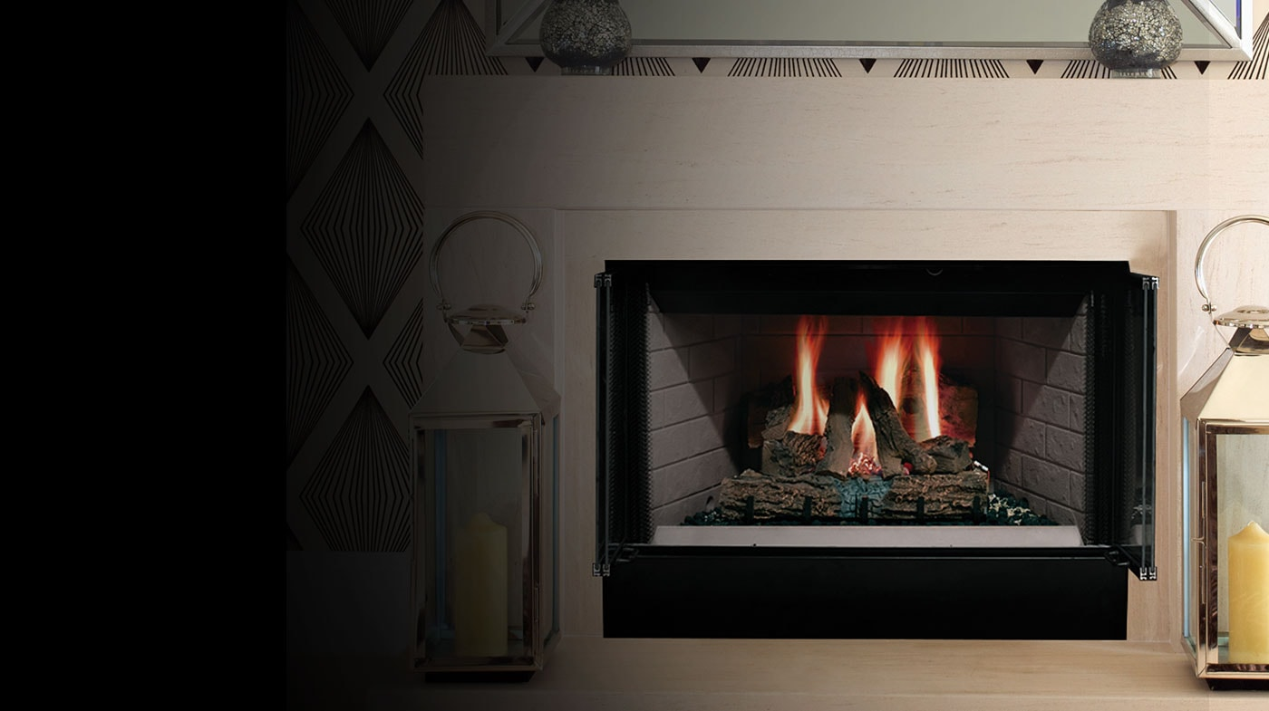 Wood Burning Fireplace Heater Blower Sovereign Wood Burning Fireplace Majestic Products