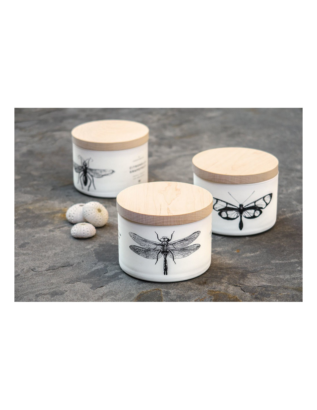 Bougie Citronnelle Exterieur Skeem Candles Bougie 3 Mèches Citronella Grapefruit