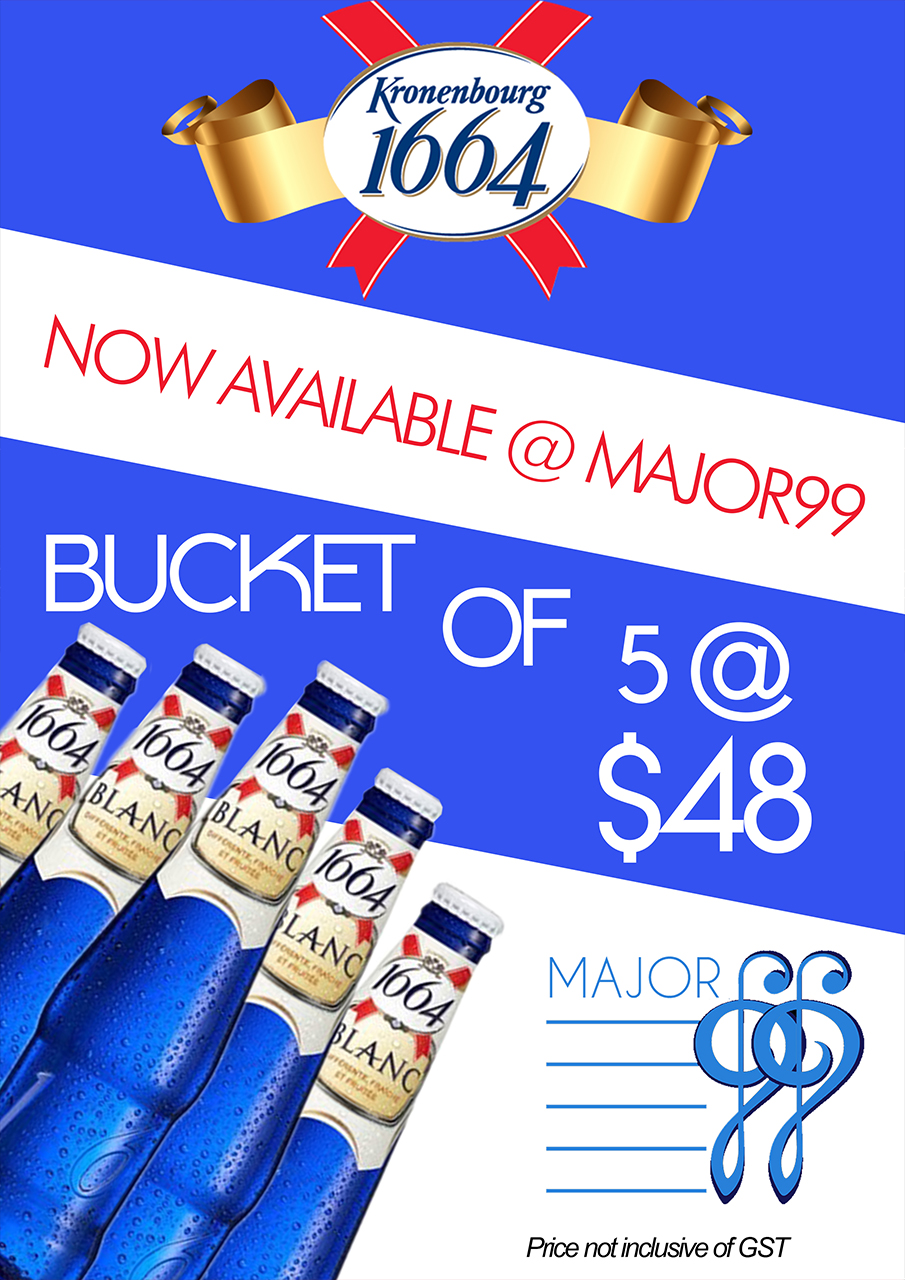 Blanc Promo Ktv Pub Major 99 Menu Promos Check Out Our Attractive Promotions