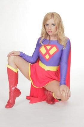 Lexi Belle as Supergirl