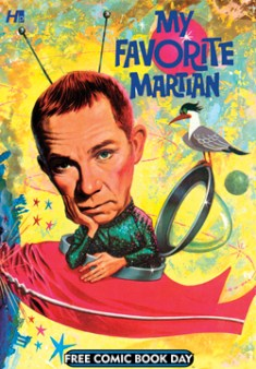 Hermes Press FCBD12_MY FAVORITE MARTIAN