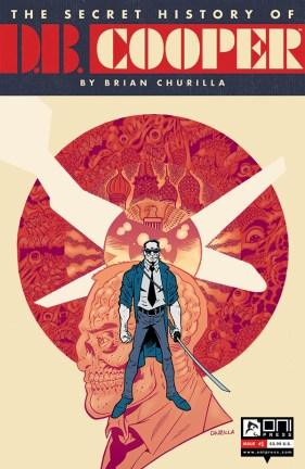 DB COOPER #1 COVER