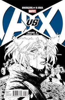 AvengersVSXMen_5_CoverVariantPichelliSketch