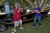 Alabama and LSU battle over Batmobile Tour