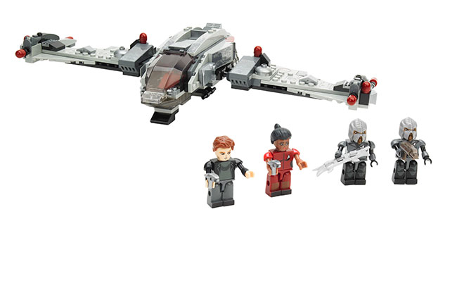 A3136-KRE-O-STAR-TREK-KLINGON-BIRD-OF-PREY-Set