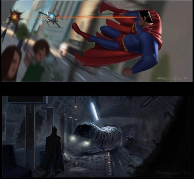 Pixar Superman Action