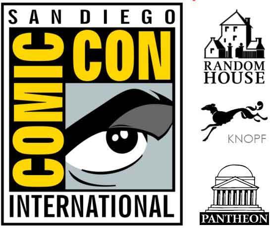 2014-SDCC-Random-House-Knopf-Pantheon-Books