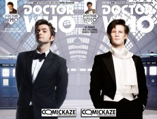 Doctor Who Tenth Doctor and Eleventh Doctor #1 Comickaze Variant