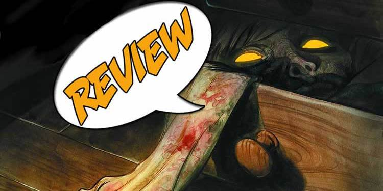 Harrow County, Cullen Bunn, Dark Horse Comics, Tyler Crook, Owen Gieni, horror, baptism,