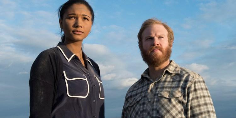 HEROES REBORN: DARK MATTER -- Pictured: Greta Onieogou as Aly, Henry Zebrowski as Quentin -- (Photo by: Christos Kalohoridis/NBC)