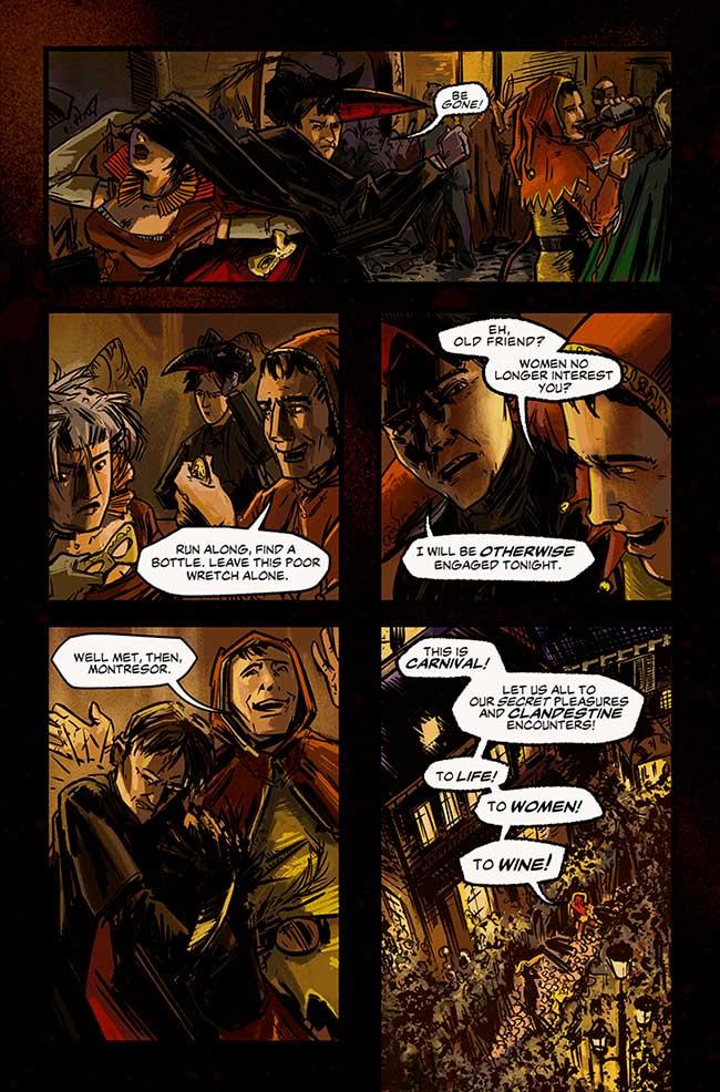 Preview The Cask of Amontillado \u2014 Major Spoilers \u2014 Comic Book
