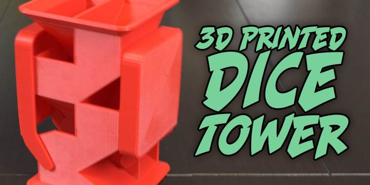 3D-Printed-Dice-Tower