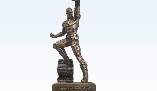 Captain-America-Statue