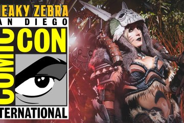 sneaky zebra comic con 2016