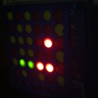 Connect 4 Binary Clock