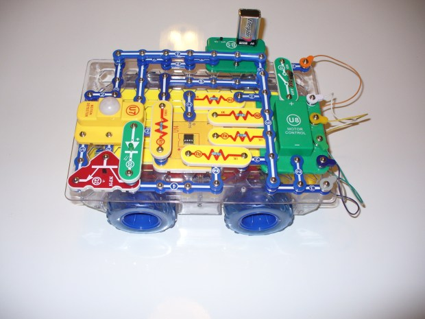 Hack the Snap Circuits Rover