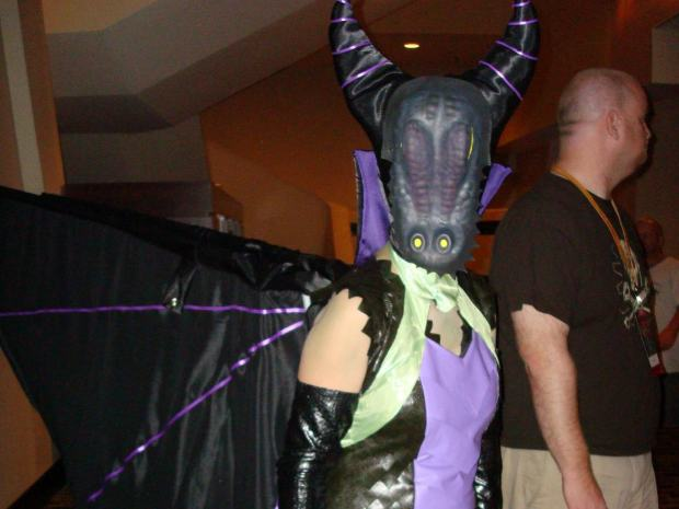 Maleficent/Dragon&nbsp;Costume