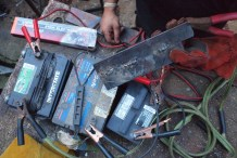 Car-Battery Welding