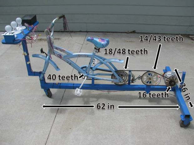 Generator Bicycle