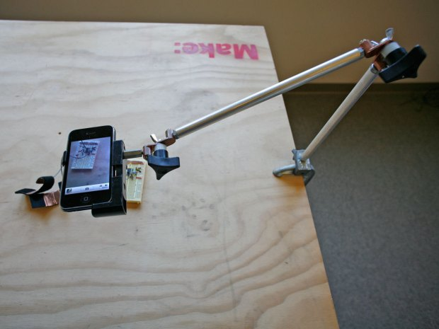 $30 Gobo Arm: Mobile Document Camera&nbsp;Stand