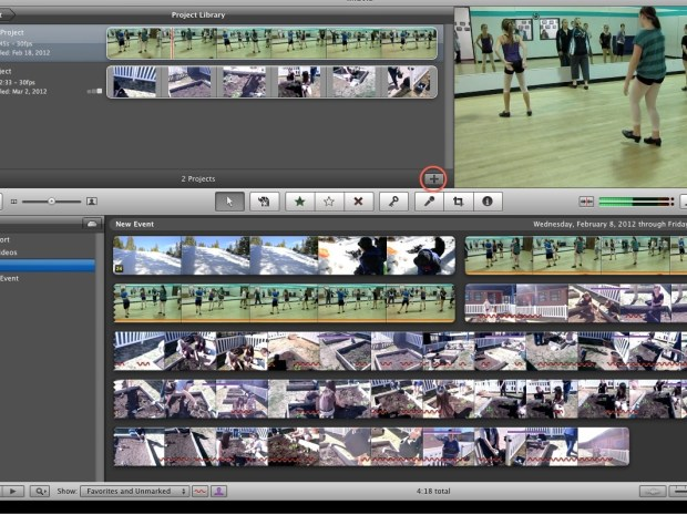 Split Screen Effect w/ iMovie