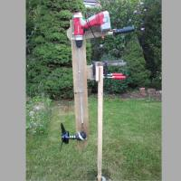 Wooden Outboard Motor Powered by a Cordless&nbsp;Drill