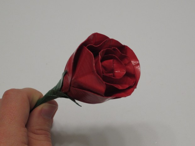 Realistic Duct Tape Rose