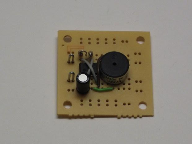 Miniature Beeping CircuitPrank