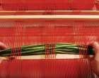 Fringy Loom-Woven Pillow