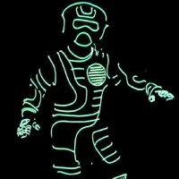 Light-Up EL Wire&nbsp;Costume