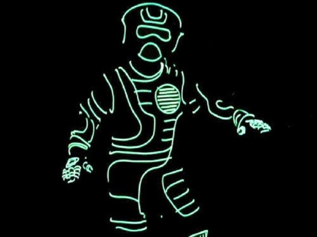 Light-Up EL Wire Costume