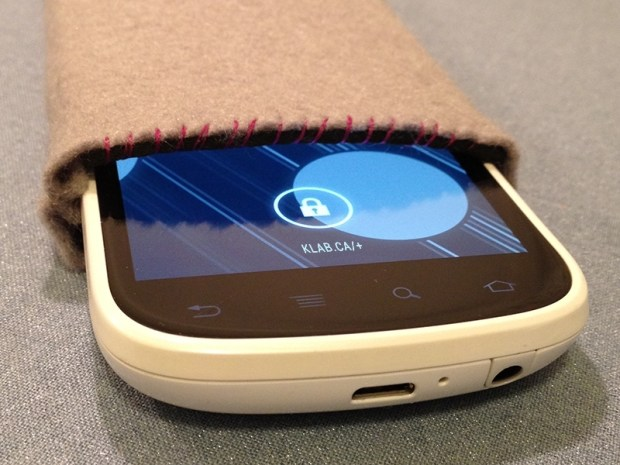 NFC-Enhanced Slip Case for&nbsp;Smartphones